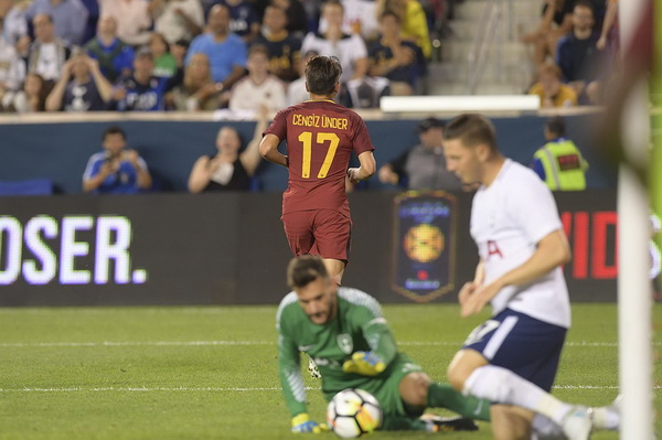 Cengiz Under AS Roma