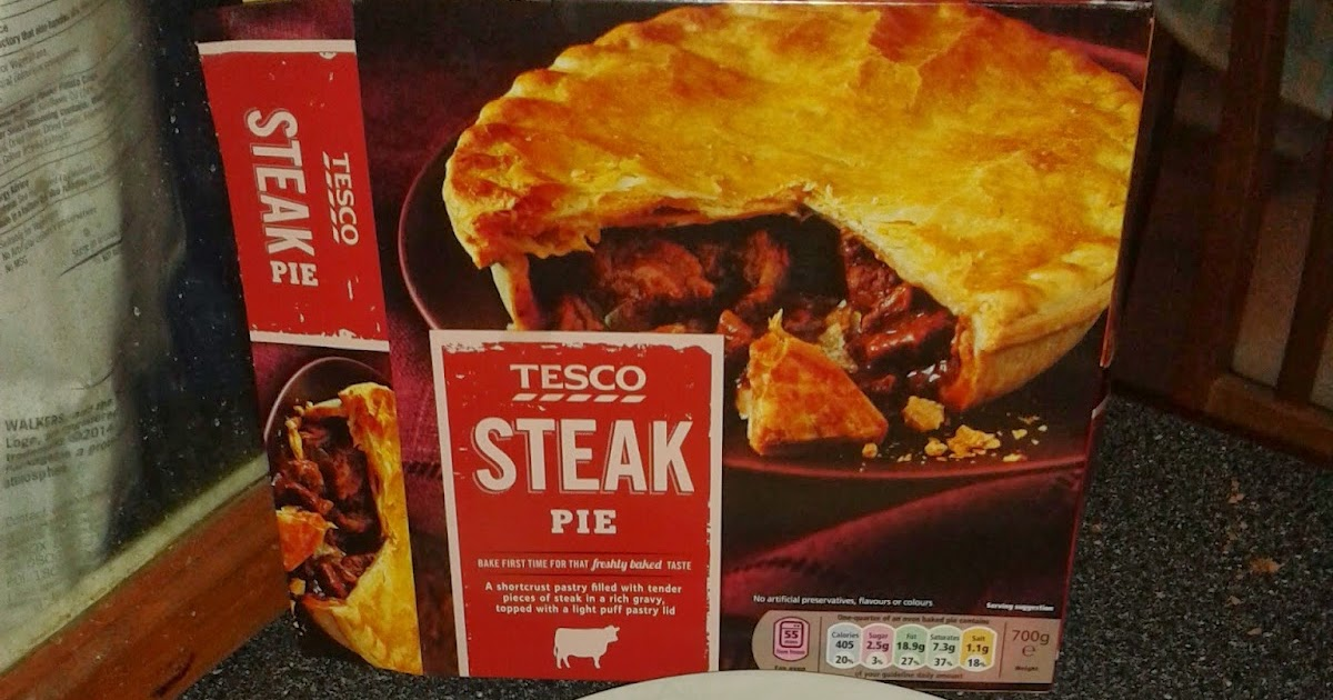 Pierate - Pie Reviews: Steaking out on Tesco pies for Pi ...