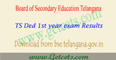 BSE Telangana D.Ed First Year Result 2021 manabadi for 2020-22 batch
