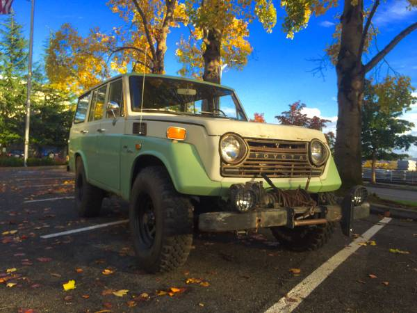 1971 Toyota Land Cruiser FJ55 For Sale