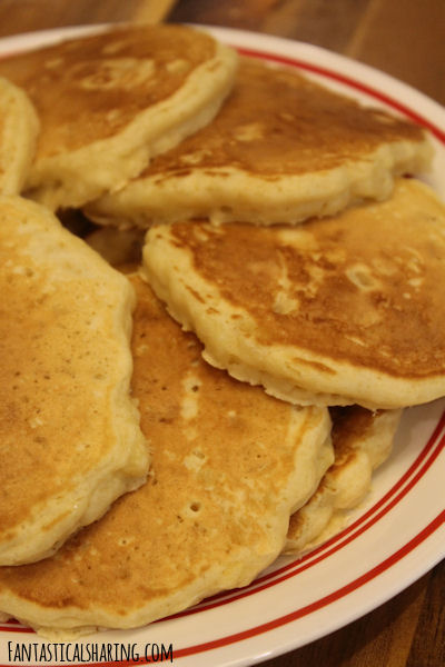 Pete's Scratch Pancakes (with pineapple) #recipe #breakfast #pancakes #homemade #pineapple
