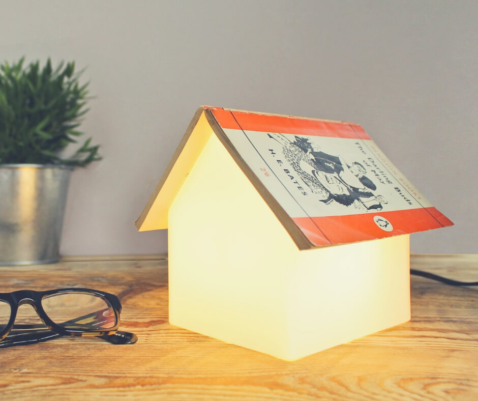 Christmas Gift Ideas For Your Mum and Dad | A book lamp is perfect for the readers, never lose your page again!