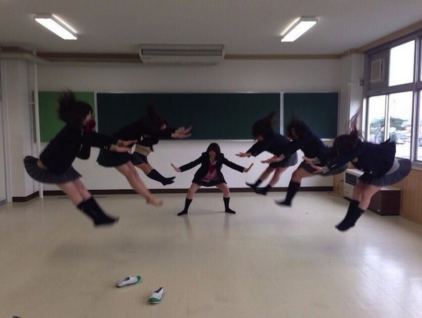 Japanese Schoolgirls energy attacks