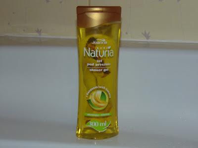 Naturia, Joanna - żel pod prysznic - Banan 300 ml