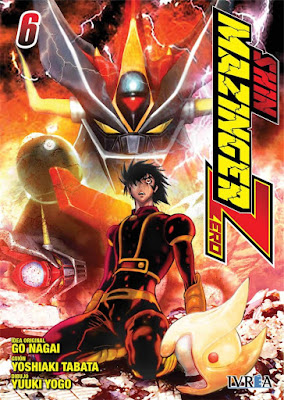 "Reseña de ""Shin Mazinger Zero"" vol. 6 de Yoshiaki Tabata y Yuki Yugo - Ivréa"