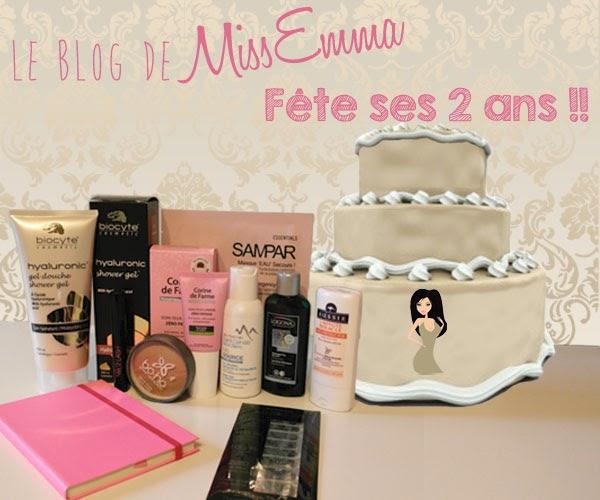 Le Blog de MissEmma fête ses 2 ans !!!
