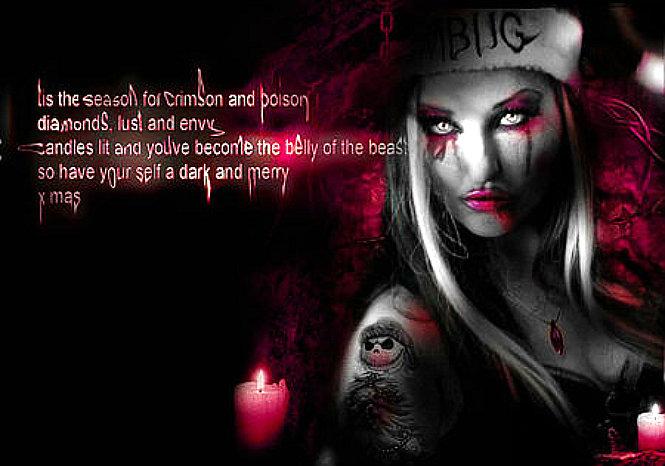 Evil Christmas.A Devilish Book Of Shadows The Evil Christmas