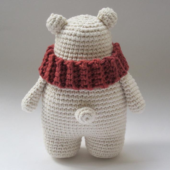 Amour Fou   Crochet }: { Leopoldo, el Oso Polar... }