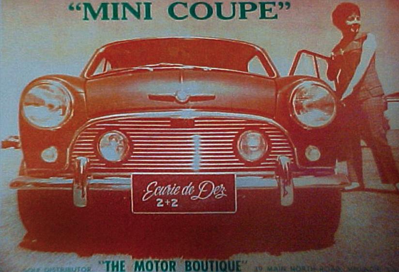 Maximum Mini Mini Coupe Classic Trick
