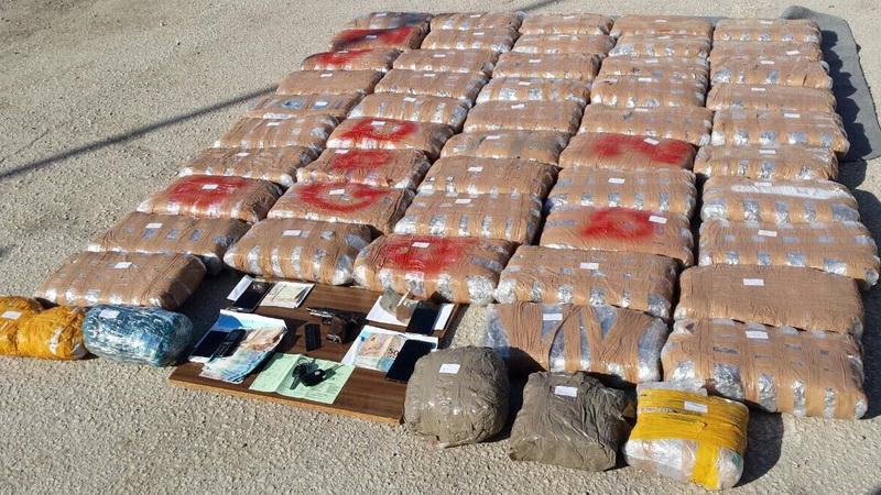 Συνελήφθησαν στον Έβρο 6 αλλοδαποί με 108 κιλά ακατέργαστης κάνναβης