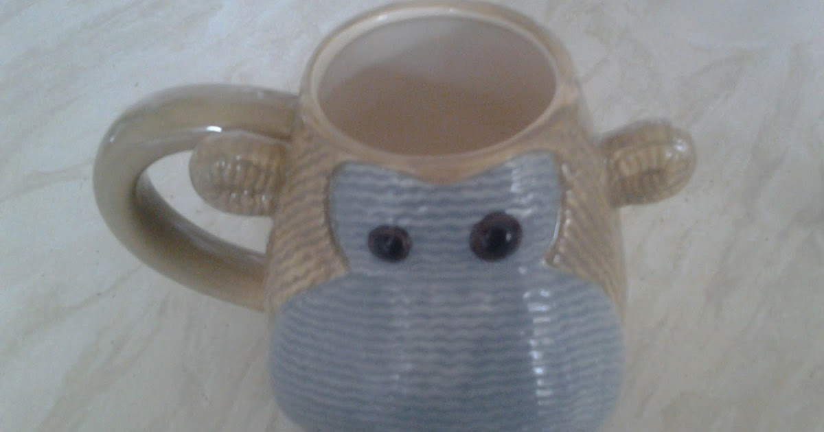 PG Tips Monkey Ceramic Tea// Biscuit Caddy New