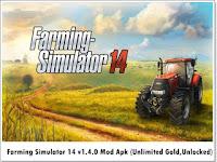 Farming Simulator 14 apk mod v1.4.3 Full Version Terbaru