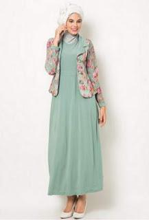 Top 10 Punto Medio Noticias Model Blazer Batik Muslimah