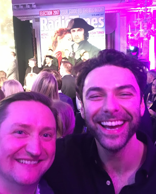 Aidan Turner,Robert Viglasky, Radio Times Covers Party