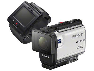 Sony FDR-X3000R с пультом