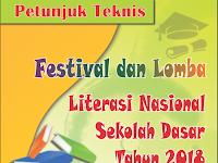 Petunjuk Teknik Festival dan Lomba Literasi Nasional SD Tahun 2018