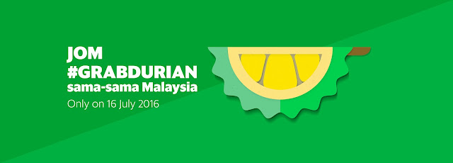Jom #GRABDURIAN WITH Grab!
