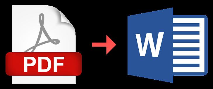 Cara Mudah Mengubah PDF ke Word Tanpa Software