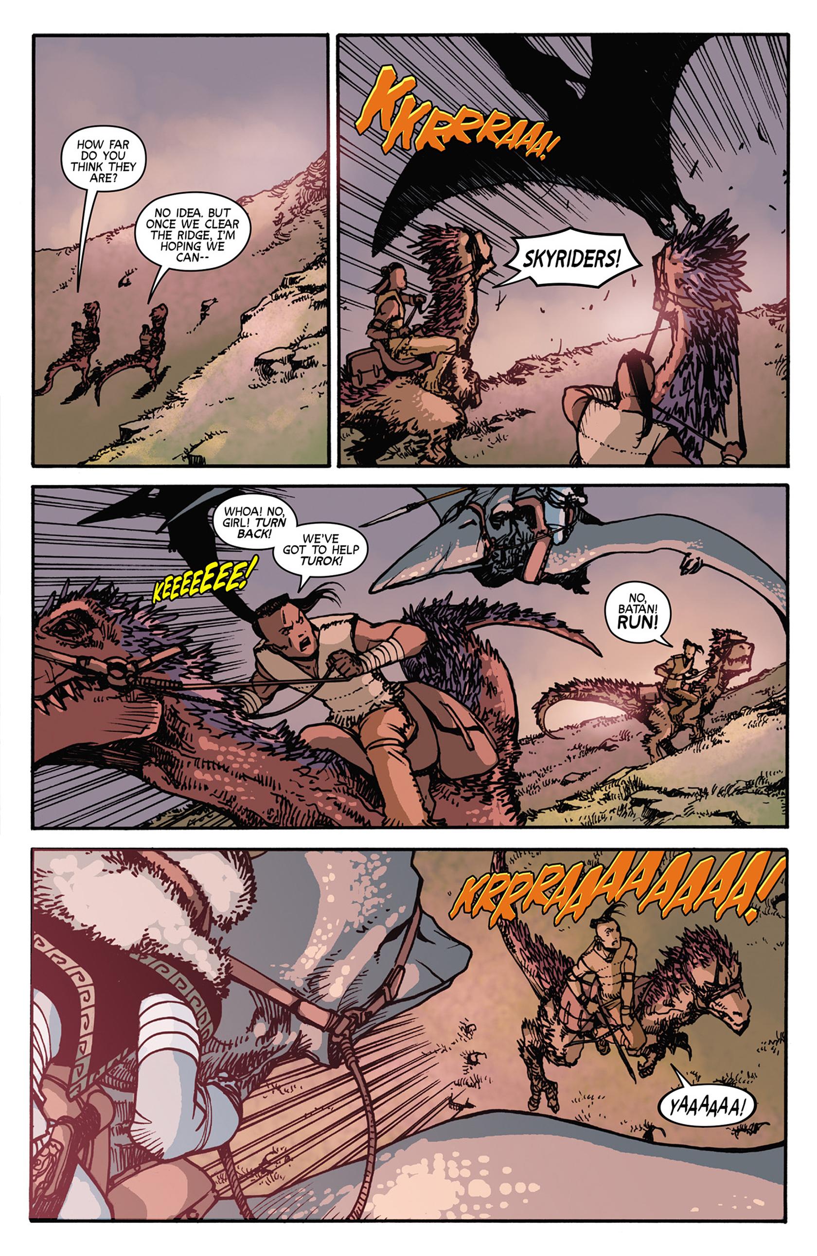 Read online Turok: Dinosaur Hunter (2014) comic -  Issue #7 - 19
