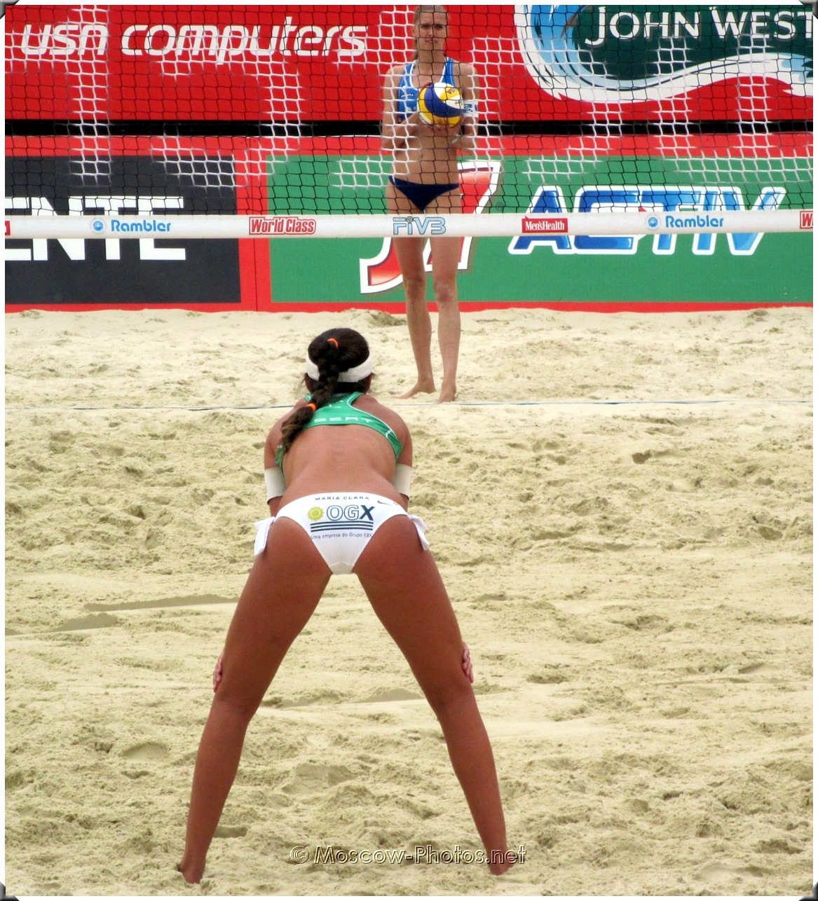 Brazil Beach Volleyball Girl Maria Clara Salgado