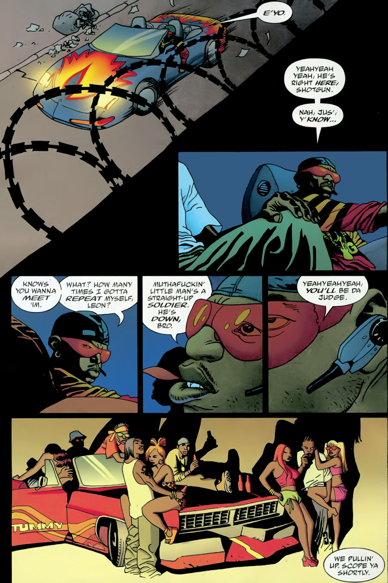 Read online 100 Bullets comic -  Issue #89 - 11