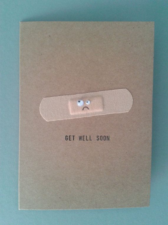 Mr Gift Card of the week Get well soon!