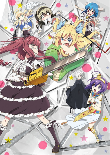 Jashin-chan Dropkick  (1-11) Sub Indo Batch Download