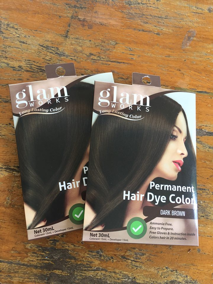 Glam Works Permanent Hair Dye Routine Delightful Illusions