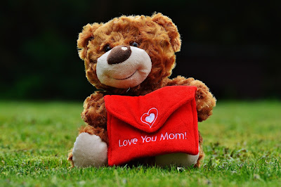 teddy bear i love you mom