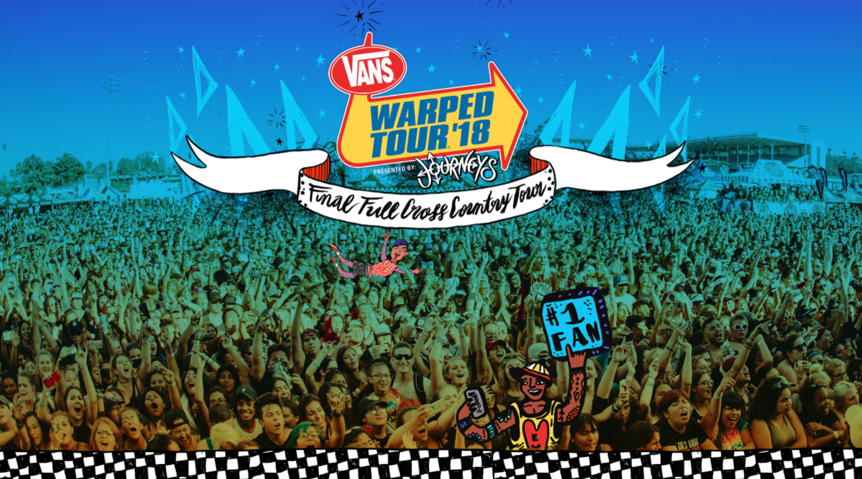 0578e75af5 The Vans warped tour is a traveling rock music tourthat has toured United  States. Annually each summer since 1995.It is the largest traveling music  festival ...