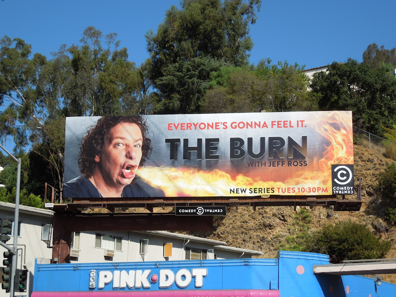 Burn Jeff Ross billboard