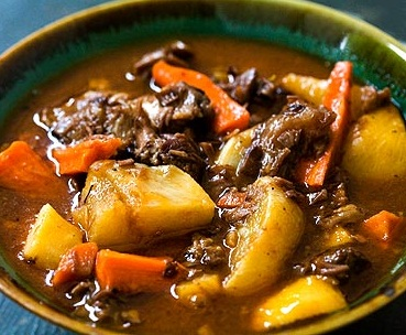 Lamb Shank Stew with Root Vegetables