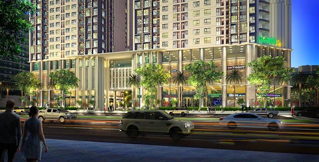 Khu trung tâm thương mại chung cư Eco Green City Nguyễn Xiển