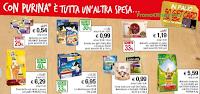 Logo Con Purina e Iper La Grande I  vinci 50 buoni spesa da 25 €