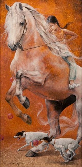 Mia - Chelìn Sanjuan e todo encanto em suas pinturas ~ Pintor espanhol