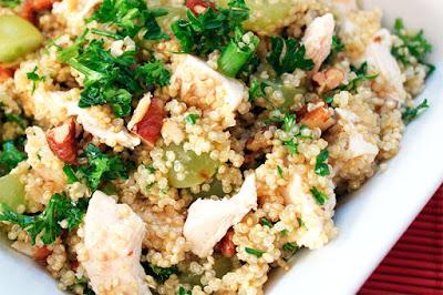 Receta para preparar Quinua para ensaladas