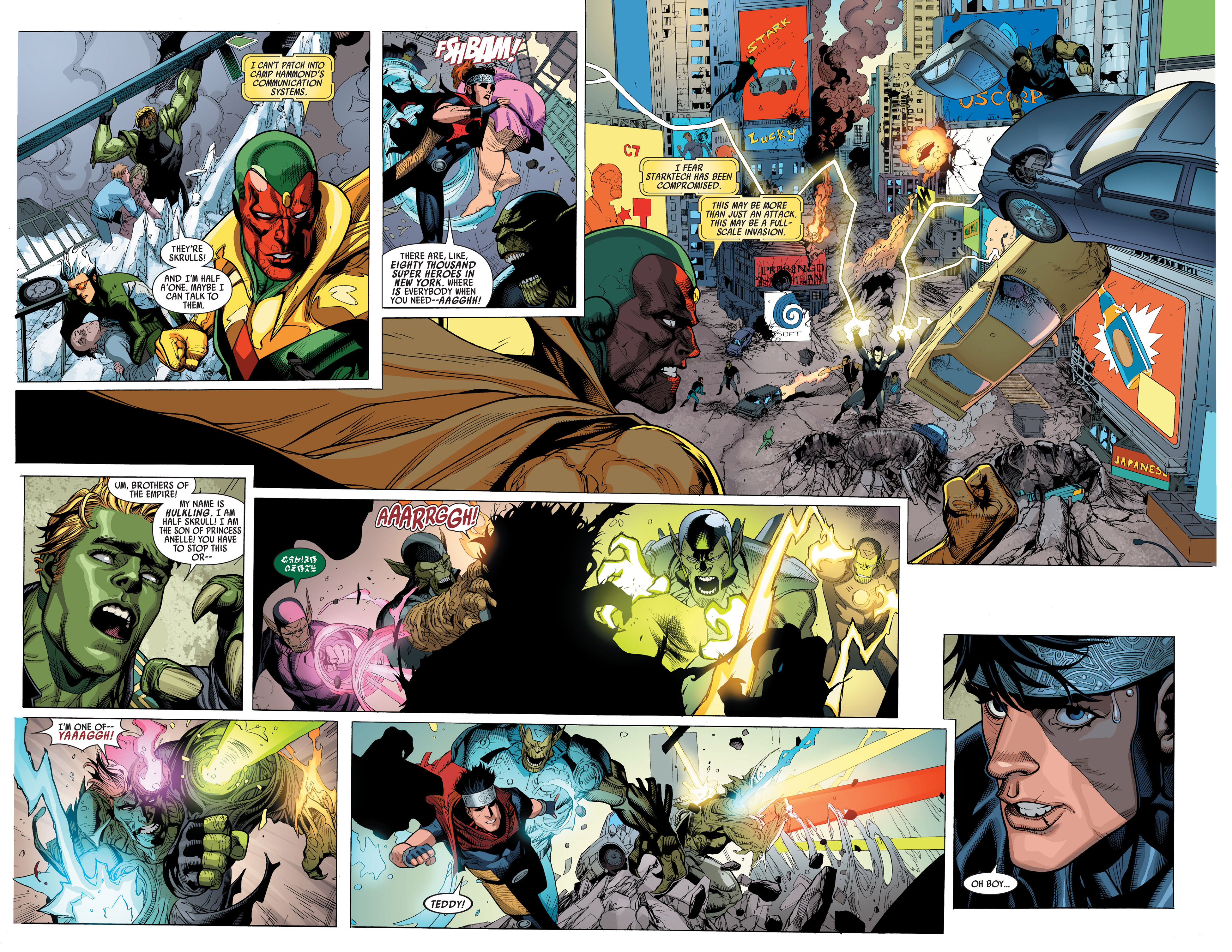 Read online Secret Invasion comic -  Issue #3 - 8