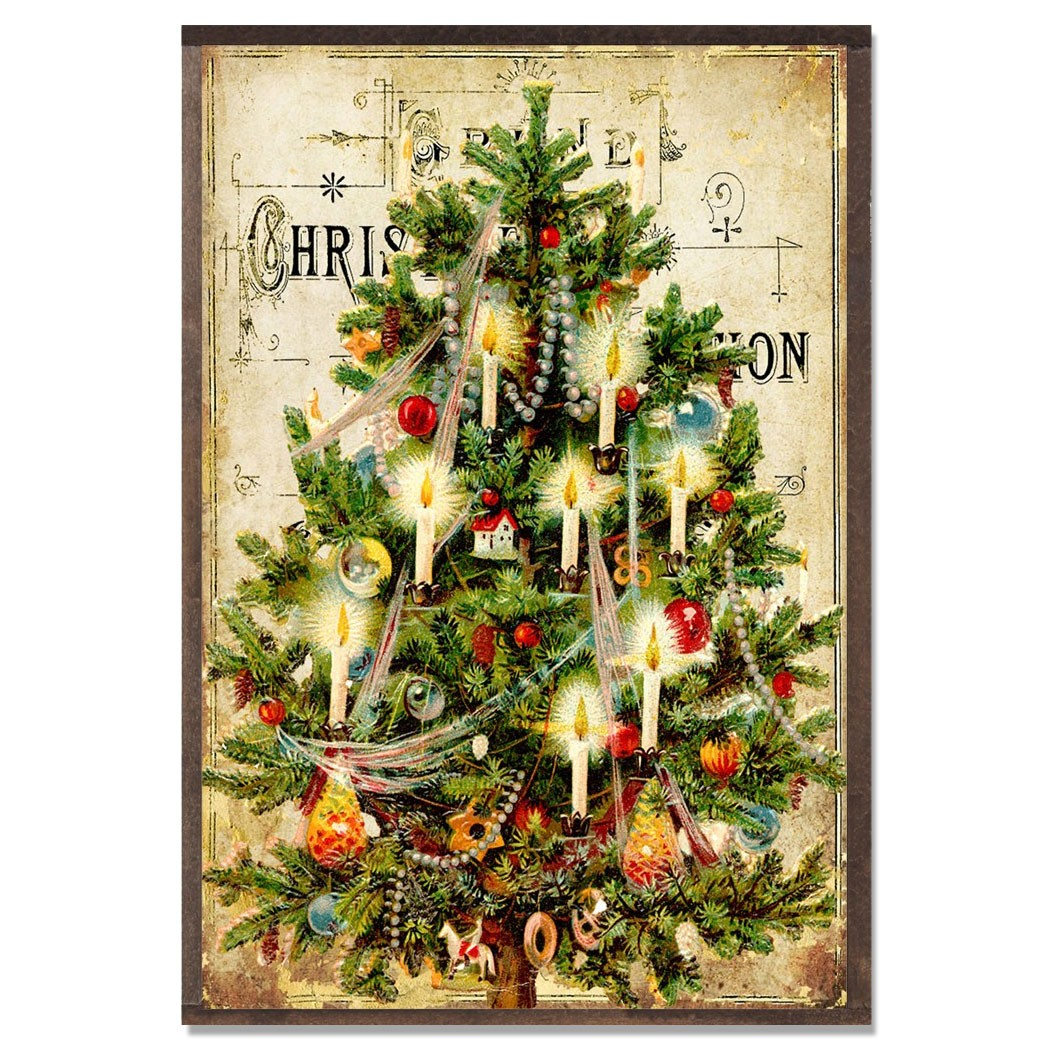 Story Behind Christmas Tree: Writing Fiction & Nonfiction Set In The Past: Christmas In