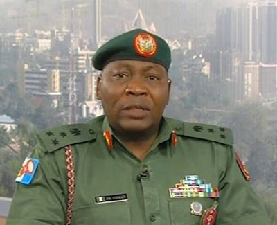 Brigadier Sani Usman: Says no plan by Army to train recruits in Sambisa