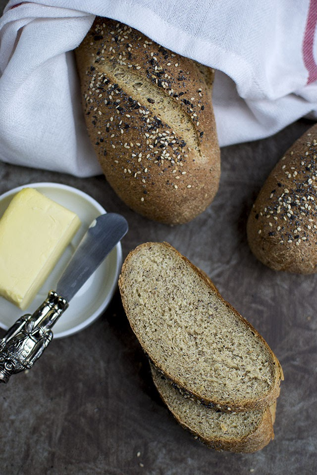 Seeded Bread loaf