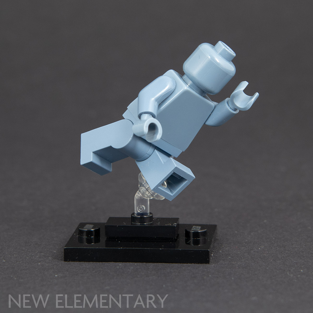 LEGO 2 x Flexible Super Jumper Stand for Minifigures Trans Clear NEW