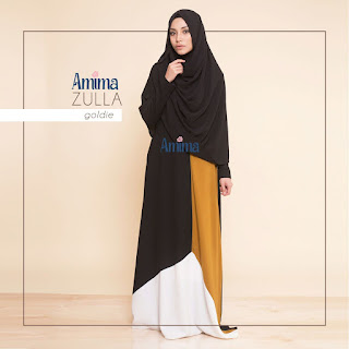 Gamis Amima Zulla Dress Goldie