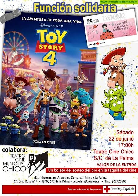 Función Solidaria de Toy Story 4 en el Teatro Cine Chico
