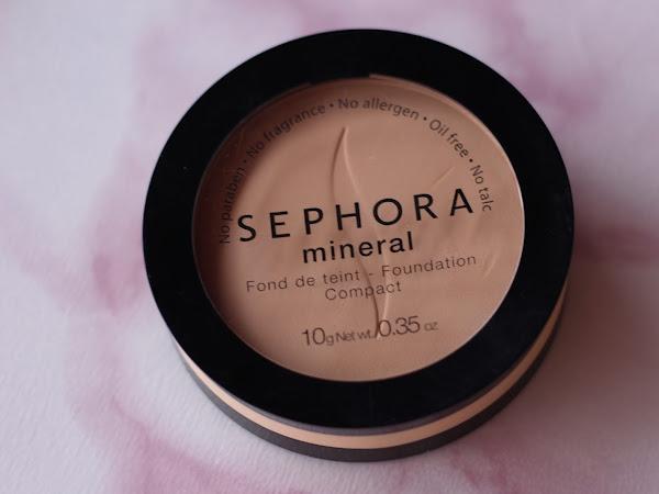 Review - Base Mineral em Pó Sephora