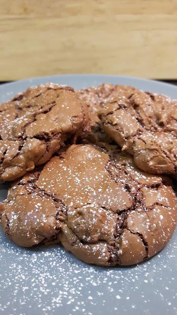 Rezept für Schoko-Brownie-Cookies