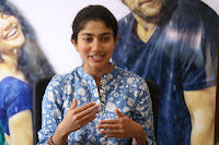 Sai Pallavi looks super cute in plain dress at her interview in Telugu about movie Fidaa ~ Exclusive Celebrities Galleries 019.JPG