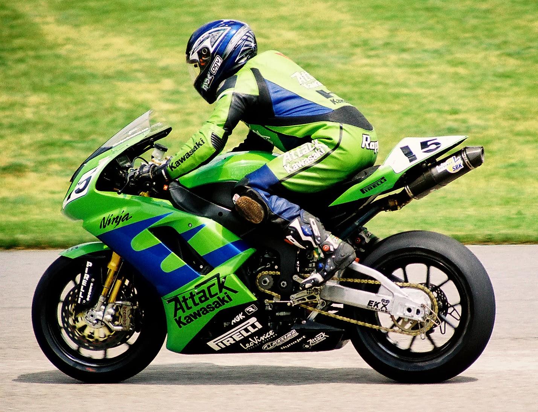 Motor Road Race Kawasaki