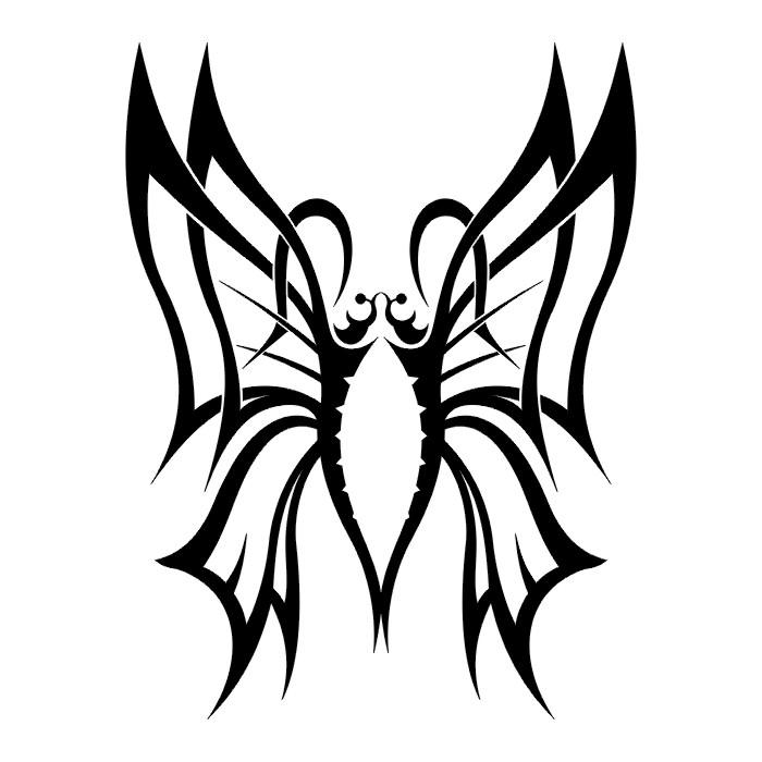 Tattoos Butterfly Tattoo Stencils