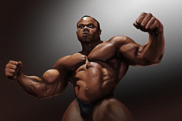 Kai Greene bodybuilding Hardcore Workout Routine Goals