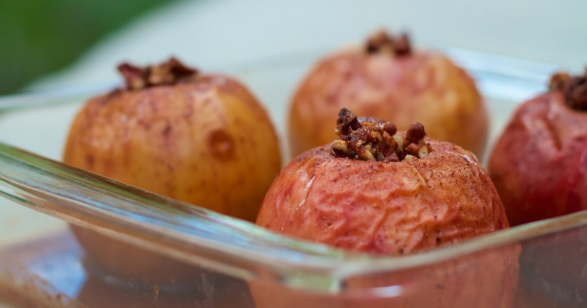 Simple Maple Cinnamon Baked Apples | Local Food Rocks